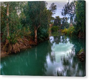 River Jordan Canvas Print by Don Wolf