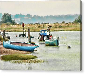 River Life Canvas Print by Sharon Lisa Clarke
