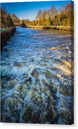 Canvas Print - River Medway Kent by Dawn OConnor