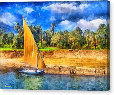 River Nile Canvas Print by George Rossidis