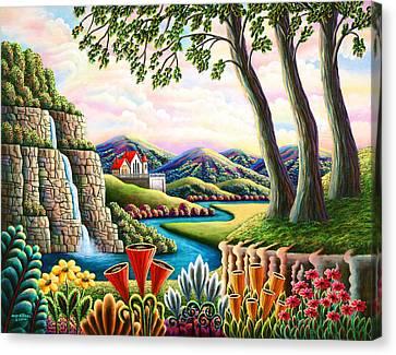 River Of Dreams 3 Canvas Print