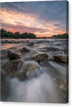 River Of Dreams Canvas Print by Davorin Mance