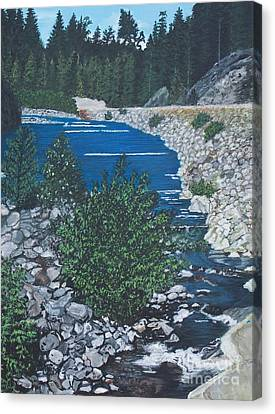 River Of Peace -2 Canvas Print