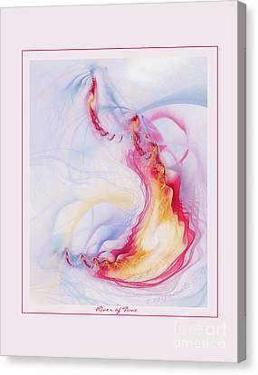 River Of Time Canvas Print by Gayle Odsather