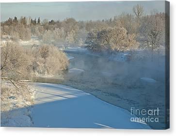 River Pastorale I Canvas Print