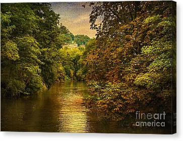 River Path Canvas Print by Svetlana Sewell