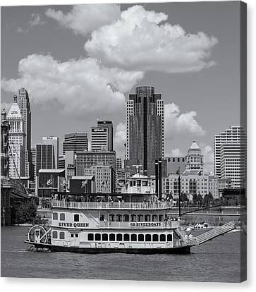 River Queen Canvas Print by Diana Boyd
