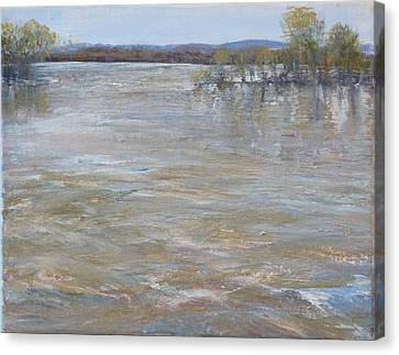 River Rising Canvas Print by Helen Campbell