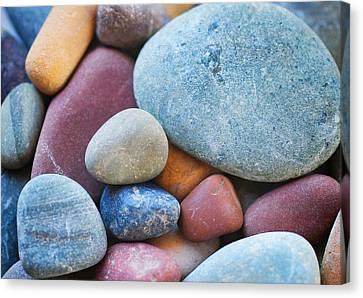 River Rocks Canvas Print by Jess Williams