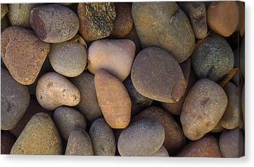 Canvas Print featuring the photograph River Rocks by Richard Stephen