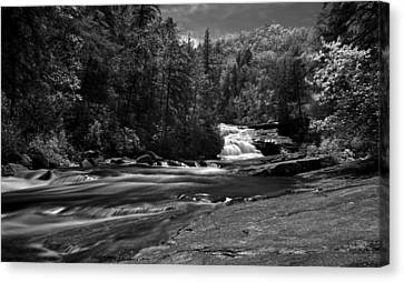 Canvas Print featuring the photograph River Run by David Stine
