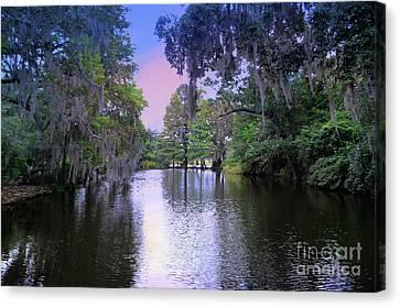 River  Runs Through Canvas Print