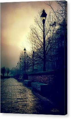 River Street Solitude Canvas Print