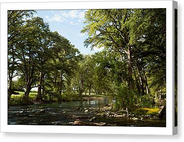 Canvas Print featuring the photograph River Time by Sharon Jones