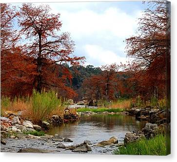 Canvas Print featuring the photograph River Tranqulity by David  Norman