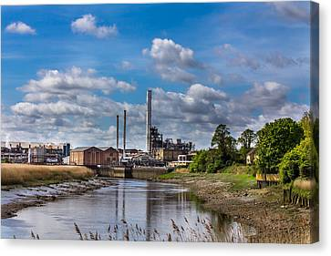 River View. Canvas Print by Gary Gillette