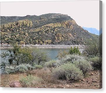 Verde River Canvas Print - River View by Gordon Beck