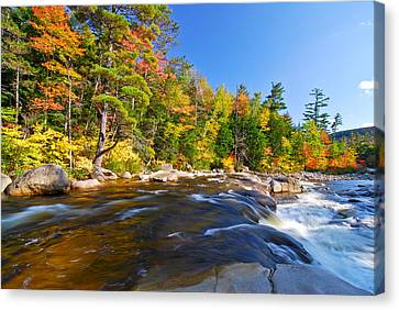 River View N.h. Canvas Print by Michael Hubley