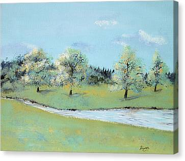 River Windrush Canvas Print