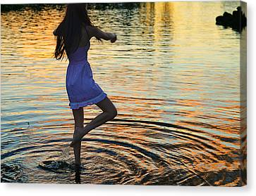 Riverdance Canvas Print