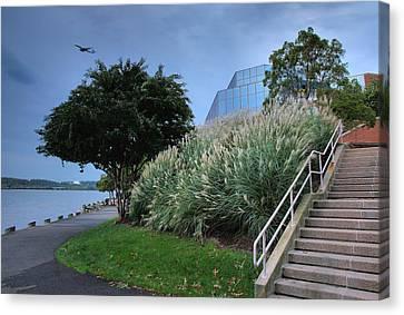 Riverfront Park II Canvas Print by Steven Ainsworth