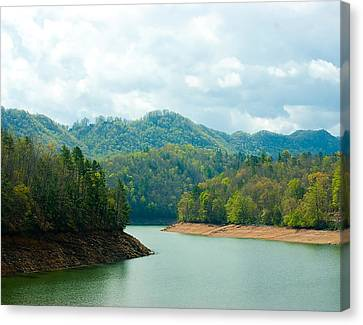 Rivers Bend Canvas Print