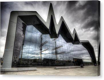 Riverside Museum Canvas Print by Ross G Strachan