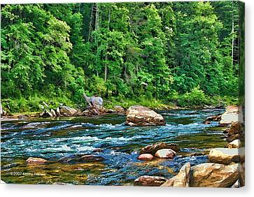 Riverview Canvas Print by Kenny Francis