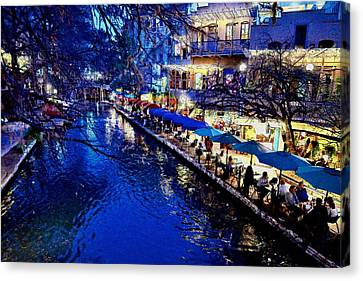 Canvas Print featuring the photograph Riverwalk by Ricardo J Ruiz de Porras