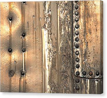 Rivetting 1 Canvas Print