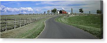 Road At Gettysburg National Military Canvas Print by Panoramic Images