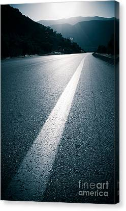 Road Canvas Print by Boon Mee