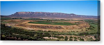 Road From Cape Town To Namibia Canvas Print by Panoramic Images