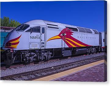 Road Runner Express Train Canvas Print