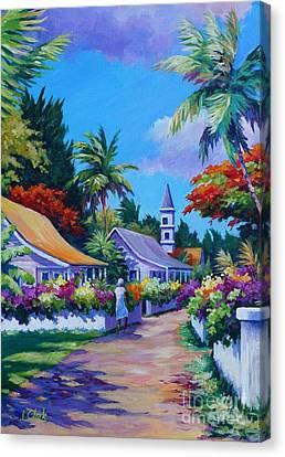 Road Through Eden Canvas Print