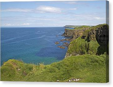 Road To Dunluce Ireland Canvas Print by Betsy Knapp