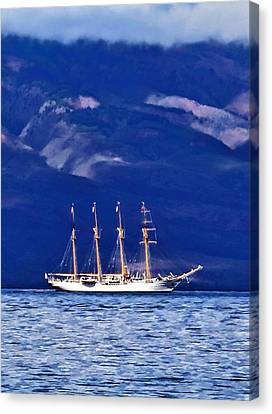 Canvas Print featuring the photograph Road To Lahaina 34 by Dawn Eshelman