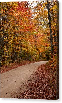 Road To Miners Beach Canvas Print by James Marvin Phelps