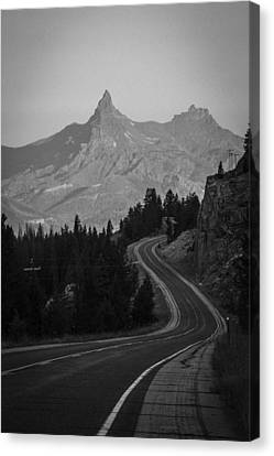 Road To Mordor Canvas Print
