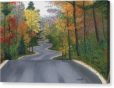 Road To Northport Canvas Print