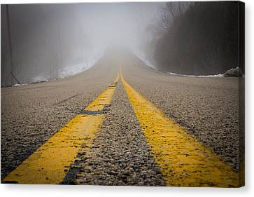 Road To Nowhere Canvas Print by Bill Pevlor