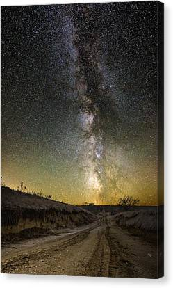 Road To Nowhere - Great Rift Canvas Print by Aaron J Groen