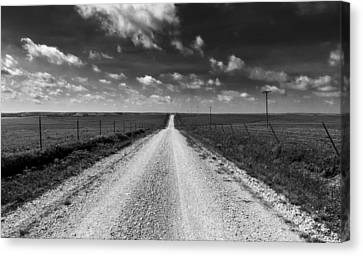 Road To Texaco Hill Canvas Print by Eric Benjamin