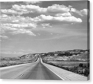 Road Trip 1 Canvas Print by Cheryl Del Toro