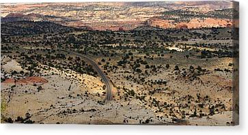 Road Trip Canvas Print by Kimberly Oegerle