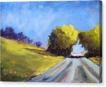 Road Trip Canvas Print by Nancy Merkle