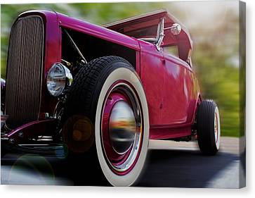 Roadster Canvas Print