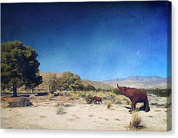 Roaming Canvas Print by Laurie Search