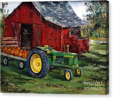 Rob Smith's Tractor Canvas Print
