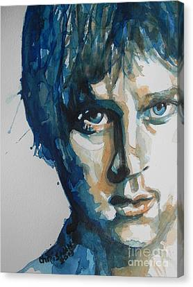 Black Artist Canvas Print - Rob Thomas  Matchbox Twenty by Chrisann Ellis